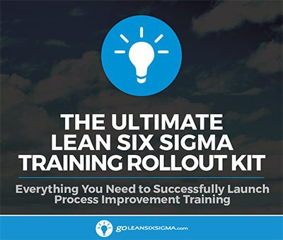 The Ultimate Lean Six Sigma Training Rollout Kit