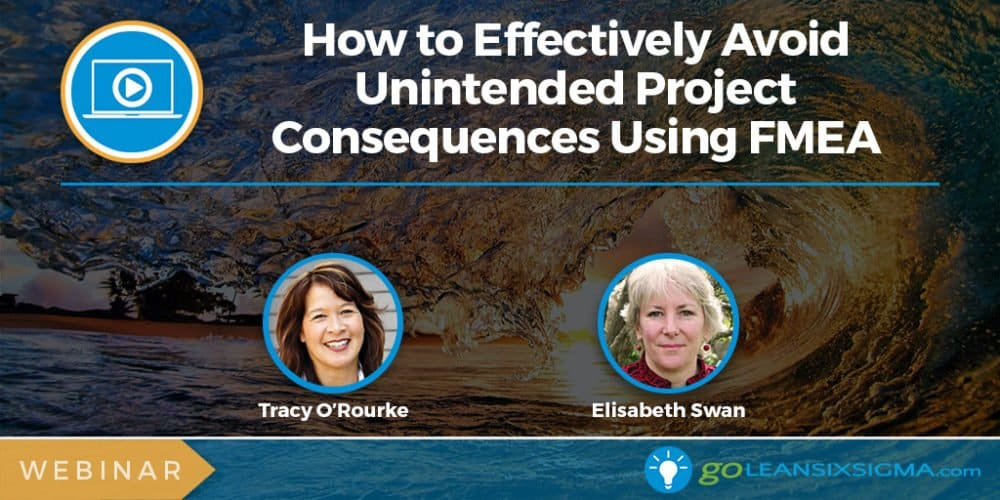 Webinar: How to Effectively Avoid Unintended Project Consequences Using FMEA - GoLeanSixSigma.com