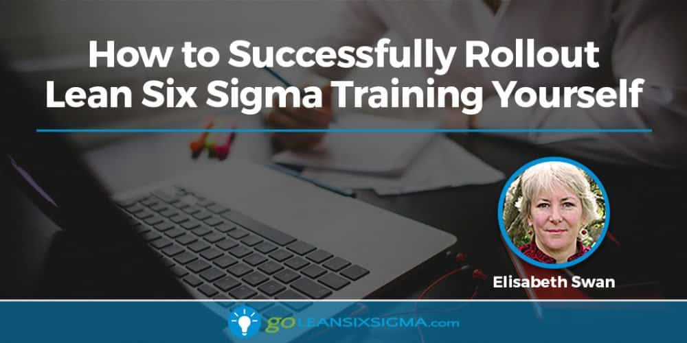 How To Successfully Rollout Lean Six Sigma Training Yourself - GoLeanSixSigma.com