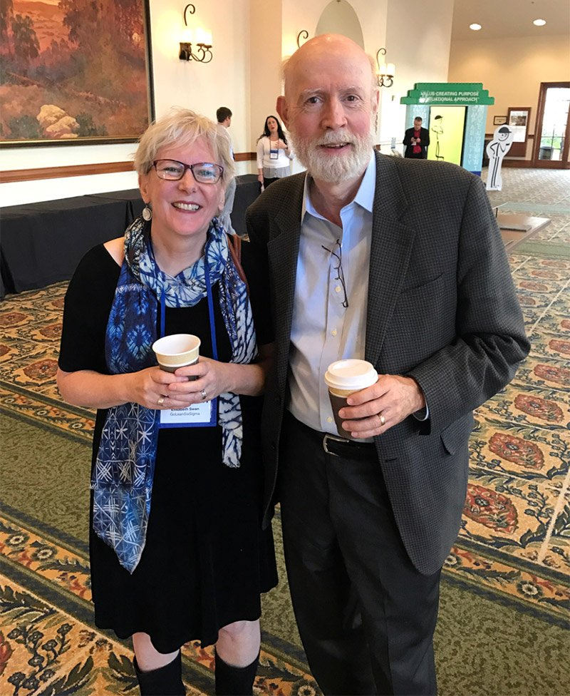 Elisabeth Swan With James Womack - GoLeanSixSigma.com