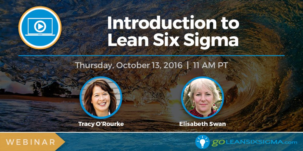 Webinar: Introduction To Lean Six Sigma