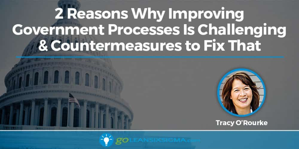 2 Reasons Why Improving Government Processes Is Challenging & Countermeasures To Fix That - GoLeanSixSigma.com