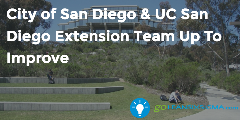 City Of San Diego & UC San Diego Extension Team Up To Improve