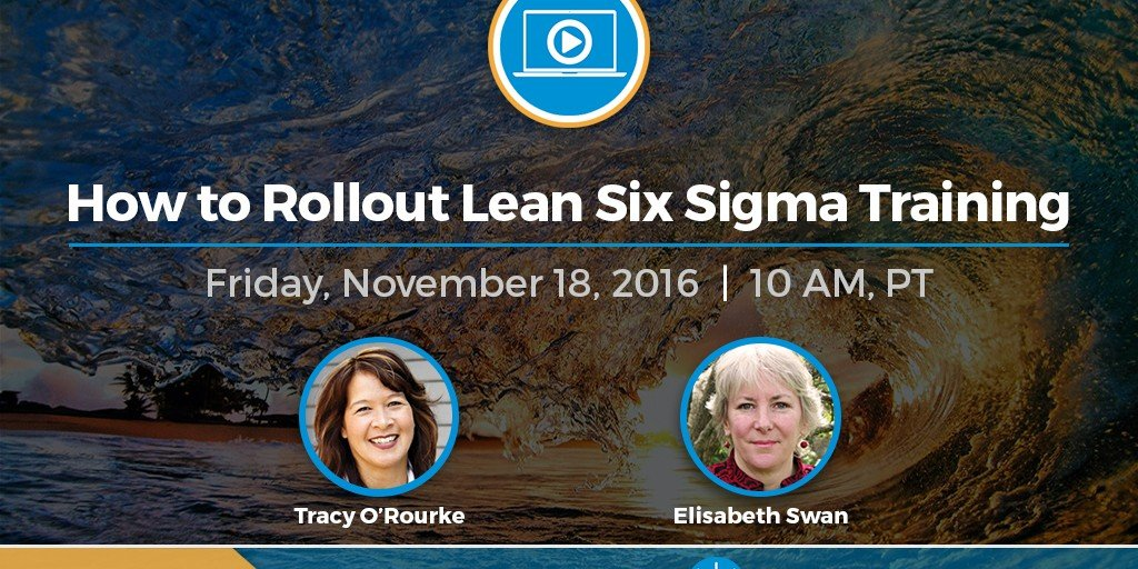 Project Presentation Webinar Banner How To Rollout Lean Six Sigma Training 2016 11 18 (1)