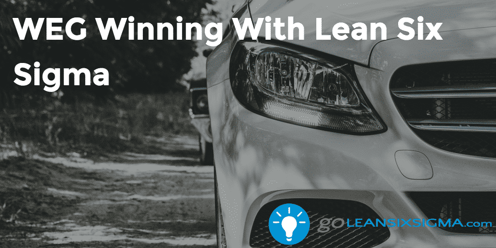 WEG Winning With Lean Six Sigma 2016 10 31 GoLeanSixSigma.com