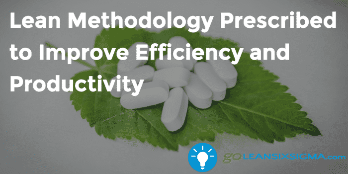 Lean Methodology Prescribed To Improve Efficiency And Productivity GoLeanSixSigma.com