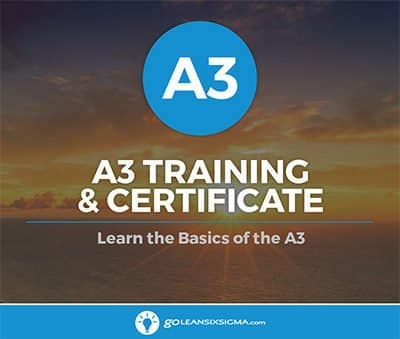 A3 Training And Certification - GoLeanSixSigma.com