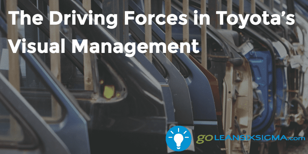The Driving Forces In Toyota Visual Management Goleansixsigma Com