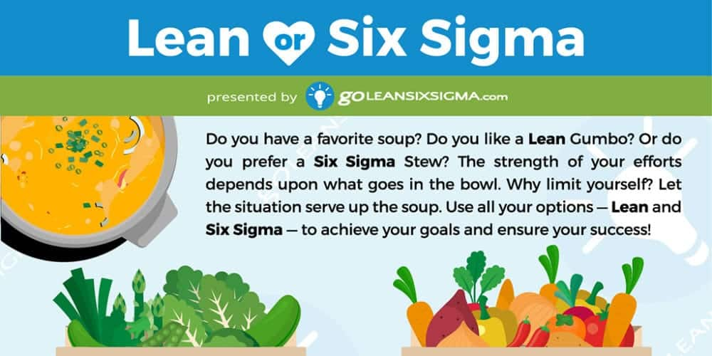 Infographic: Lean – Or – Six Sigma?