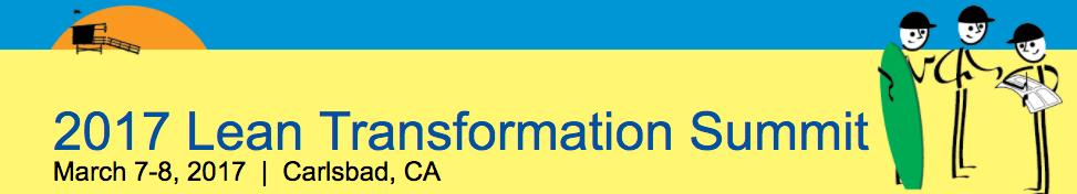2017 Lean Transformation Summit Banner - GoLeanSixSigma.com