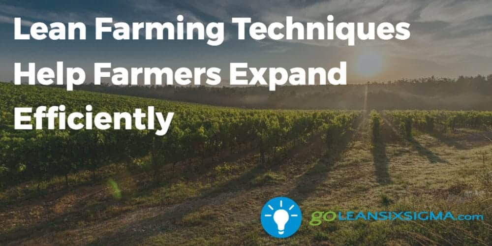 Lean Farming Techniques Help Farmers Expand Efficiently - GoLeanSixSigma.com