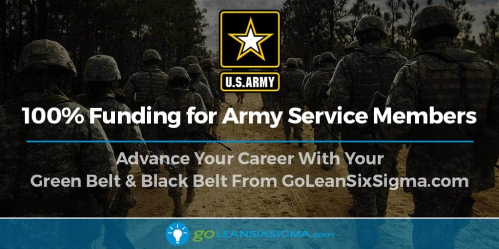 Lean Six Sigma for the Army - GoLeanSixSigma.com