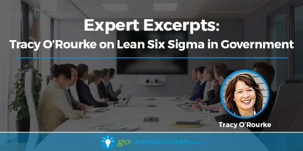 Expert Excerpts: Tracy O'Rourke On Lean Six Sigma In Government - GoLeanSixSigma.com
