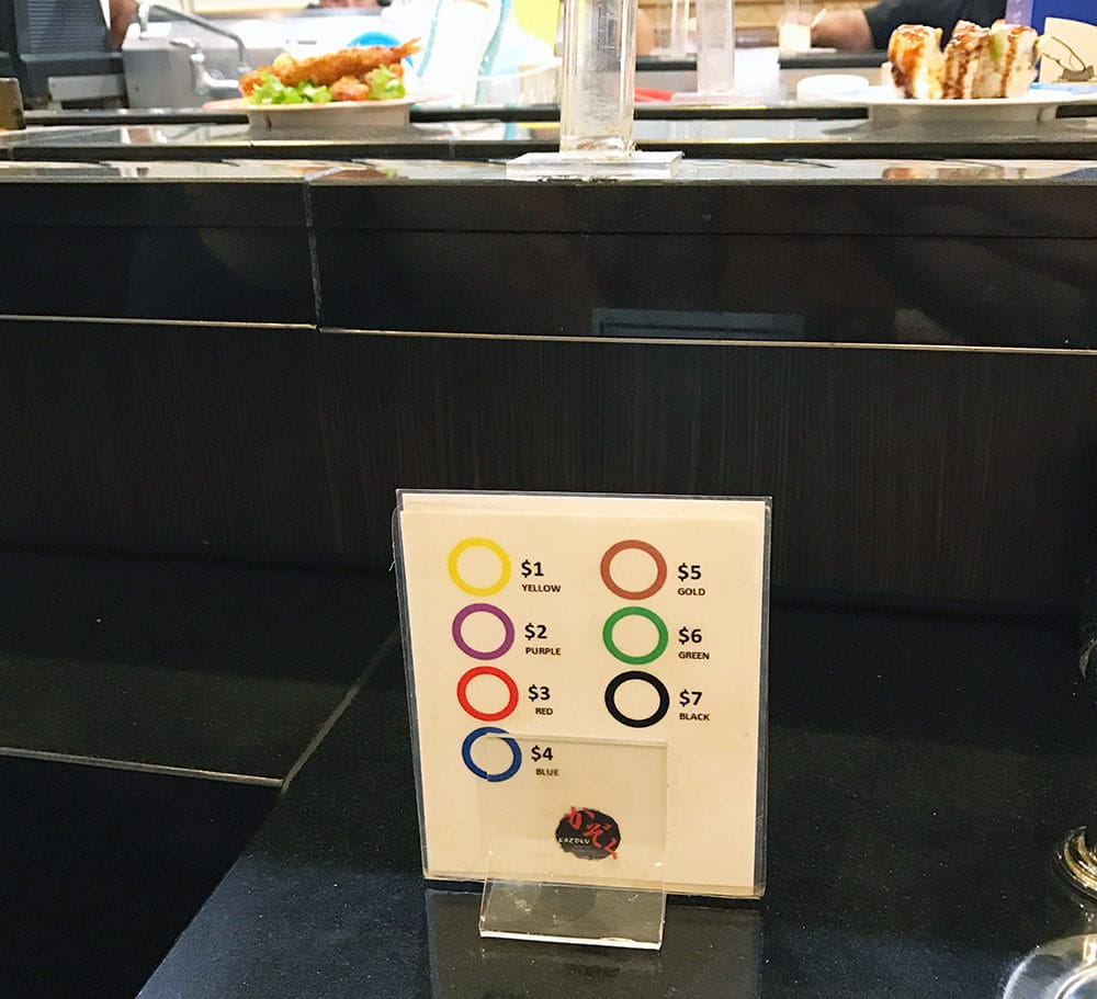 Lean Six Sigma Is Everywhere: Sushi Plates - GoLeanSixSigma.com
