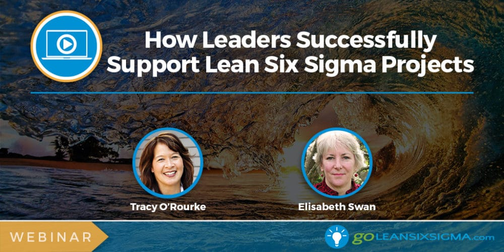 Webinar: How Leaders Successfully Support Lean Six Sigma Projects - GoLeanSixSigma.com