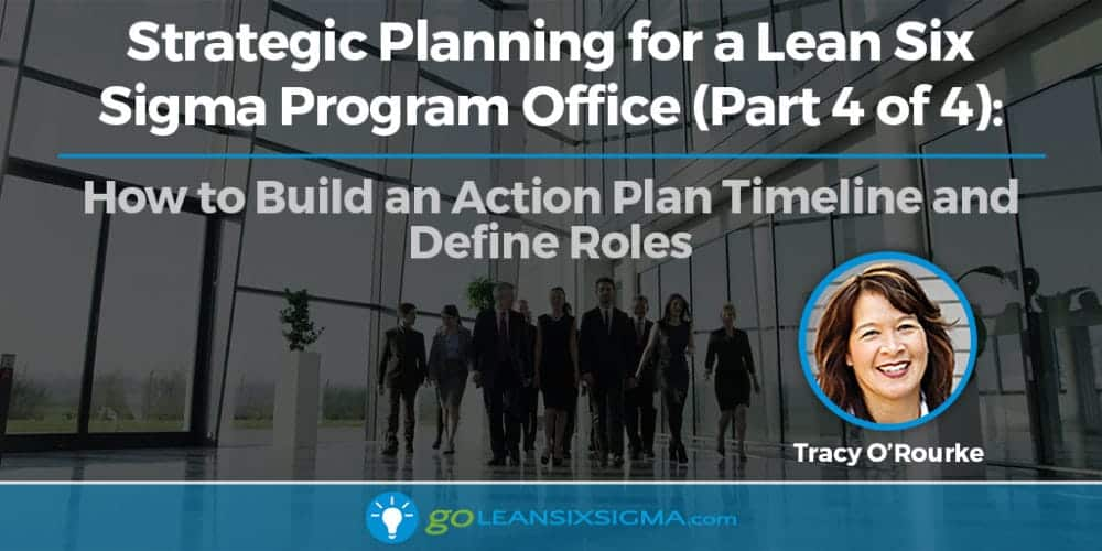Strategic Planning For A Lean Six Sigma Program Office (Part 4 Of 4): How To Build An Action Plan Timeline And Define Roles - GoLeanSixSigma.com