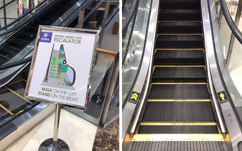 Lean Six Sigma Is Everywhere: Walk or Stand Escalator - GoLeanSixSigma.com