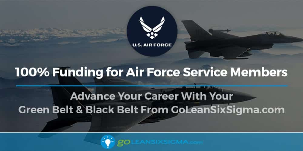 100% Funding For Air Force Service Members