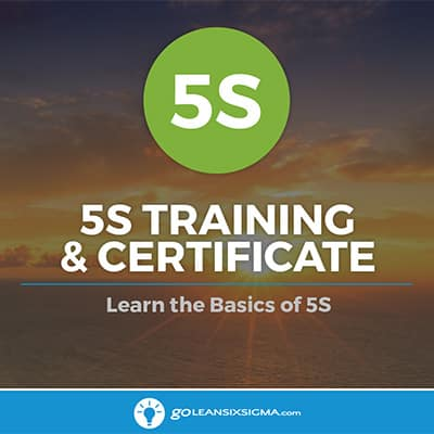 5S Training & Certificate