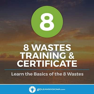 8 Wastes Training - GoLeanSixSigma.com