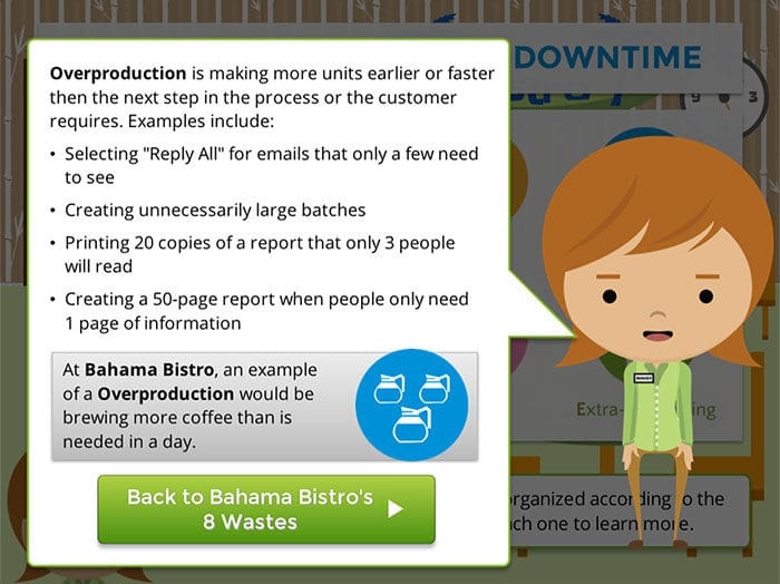 8 Wastes Screenshot 3 Goleansixsigma Com