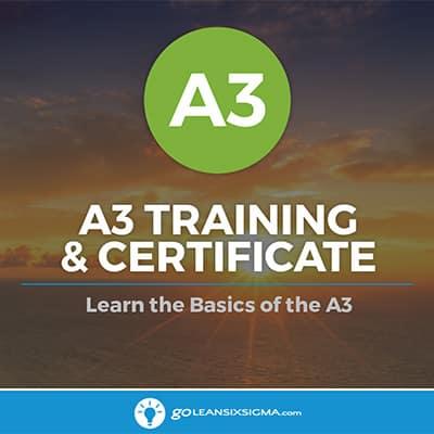 A3 Training & Certificate - GoLeanSixSigma.com