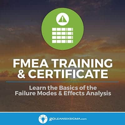 FMEA Training & Certificate