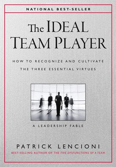 """The Ideal Team Player"" by Patrick Lencioni - GoLeanSixSigma.com"