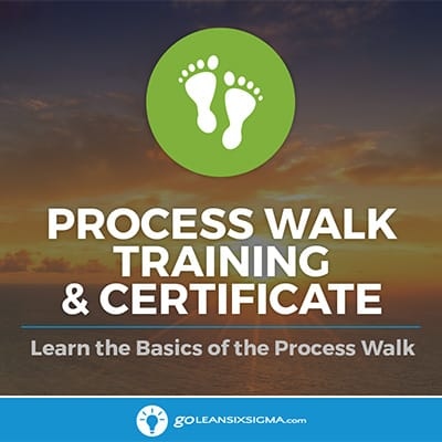 Process Walk (aka Gemba Walk) Training & Certificate