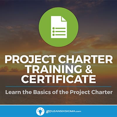 Project Charter Training & Certificate
