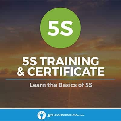 5S Training - GoLeanSixSigma.com