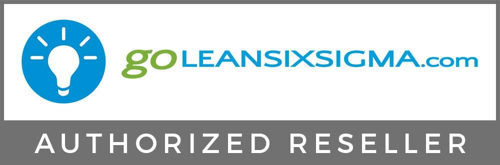 Authorized Reseller Logo – GoLeanSixSigma.com