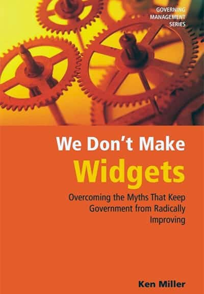 """We Don't Make Widgets"" by Ken Miller - GoLeanSixSigma.com"