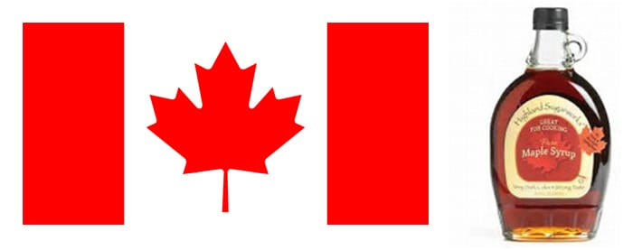 Canadian Flag & Maple Syrup - GoLeanSixSigma.com