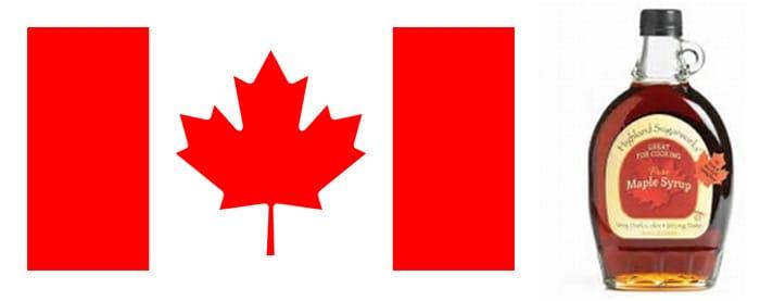 Canadian Flag & Maple Syrup - GoLeanSixSigma.com