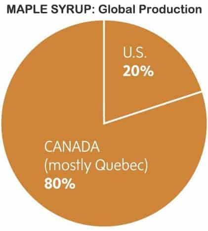 Maple Syrup Global Production - G