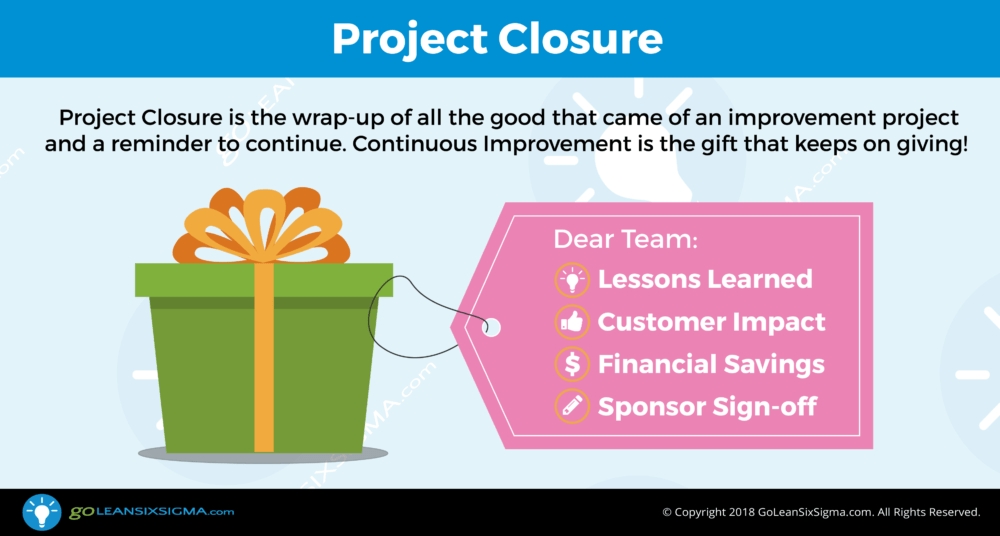 project closure example