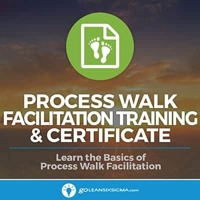 Process Walk Facilitation Training & Certificate - GoLeanSixSigma.com