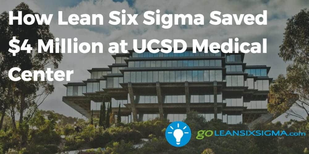 How Lean Six Sigma Saved $4 Million At UCSD Medical Center With Lily Angelocci GoLeanSixSigma.com