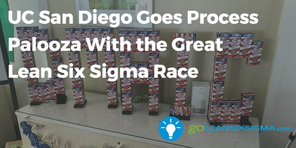 UC-San-Diego-Goes-Process-Palooza-With-the-Great-Lean-Six-Sigma-Race-GoLeanSixSigma.com