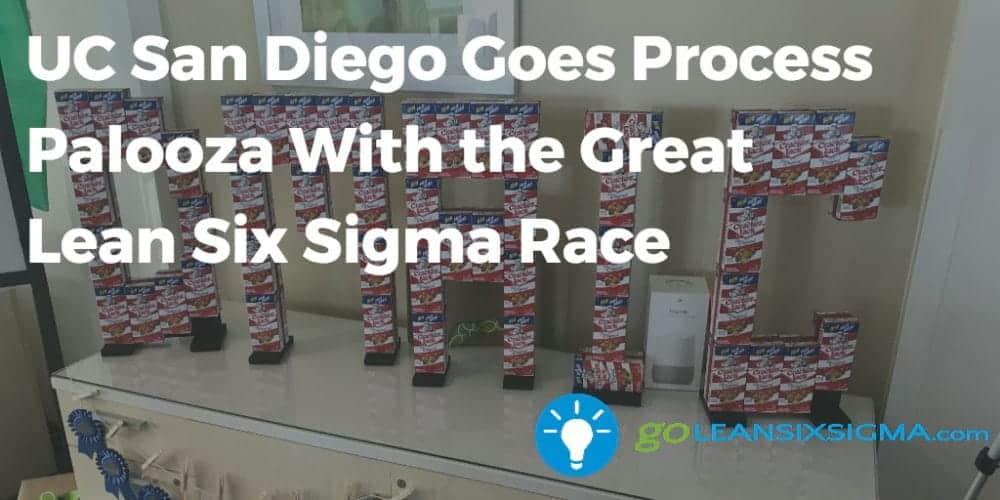 UC-San-Diego-Goes-Process-Palooza-With-the-Great-Lean-Six-Sigma-Race-GoLeanSixSigma.com