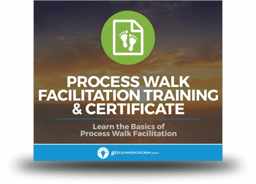 Single Module: Process Walk Facilitation - GoLeanSixSigma.com