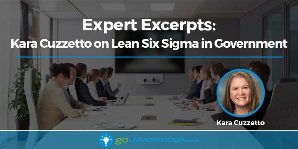 Expert Excerpts: Kara Cuzzetto on Lean Six Sigma in Government - GoLeanSixSigma.com