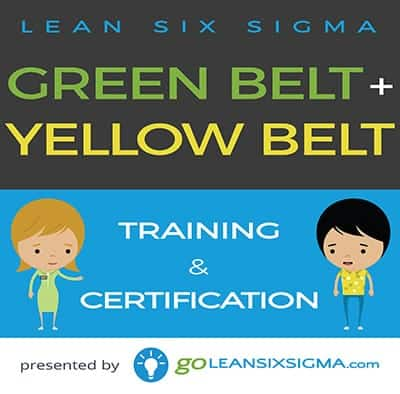Bundle: Green Belt + Yellow Belt - GoLeanSixSigma.com