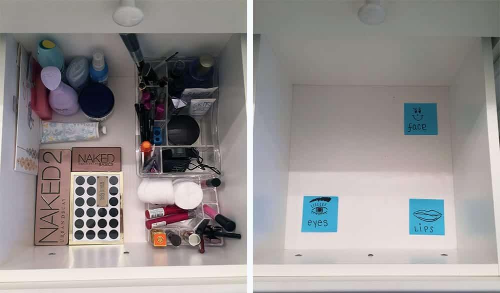 Lean Six Sigma Is Everywhere: Makeup Storage - GoLeanSixSigma.com