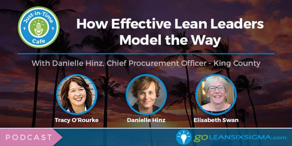 Podcast: Just-In-Time Cafe, Episode 32 – How Effective Lean Leaders Model The Way With Danielle Hinz - GoLeanSixSigma.com