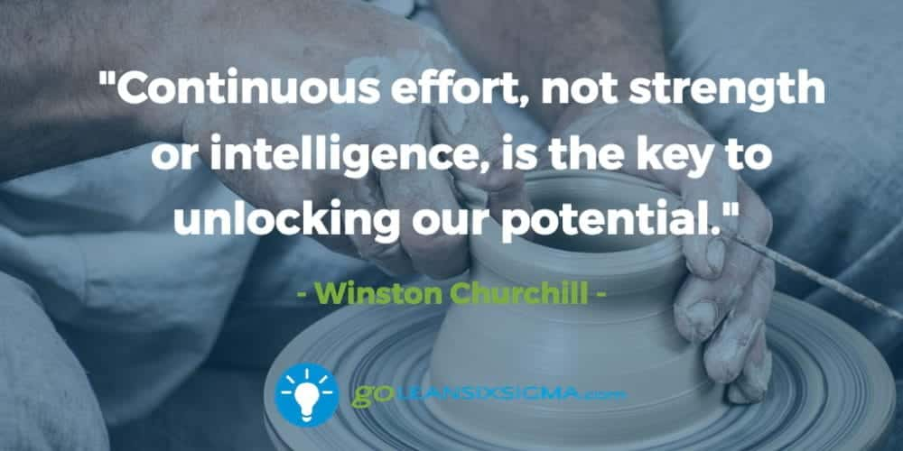 continuous-effort-strength-intelligence-key-potential - GoLeanSixSigma.com