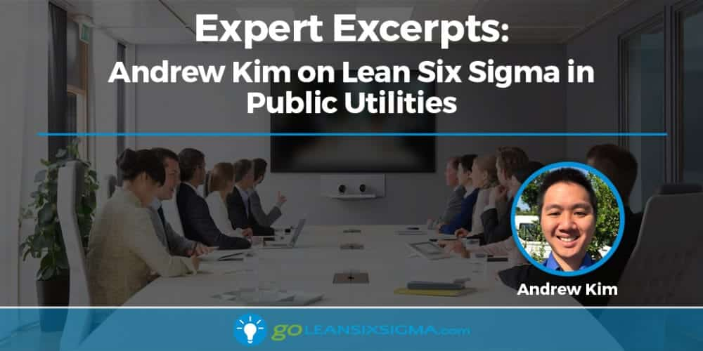 Expert Excerpts: Andrew Kim On Lean Six Sigma In Public Utilities - GoLeanSixSigma.com