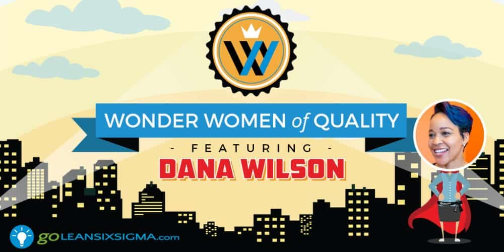 Wonder Women Of Quality: Dana Wilson - GoLeanSixSigma.com
