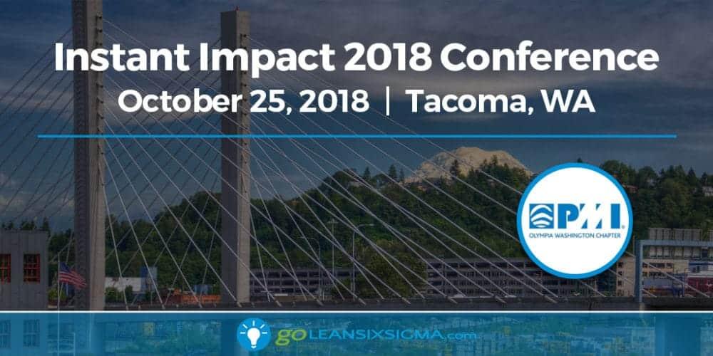 Event: Instant Impact 2018 Conference - GoLeanSixSigma.com